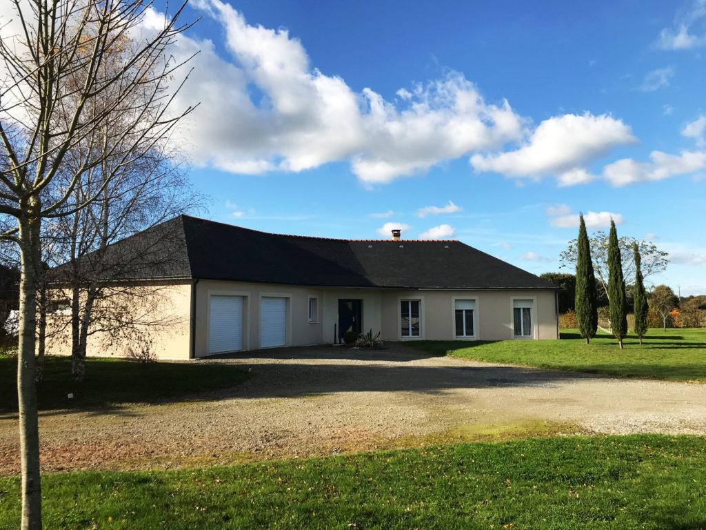 Pavillon angevin constructeur de maison dans le 49 for Constructeur individuel de maison