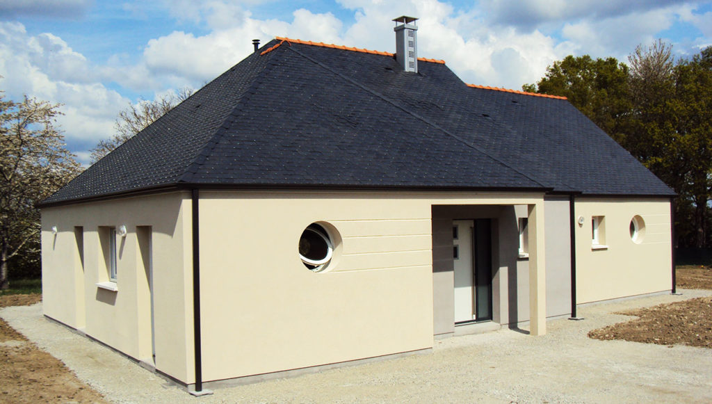 Pavillon angevin constructeur de maison dans le 49 for Constructeur maison 49