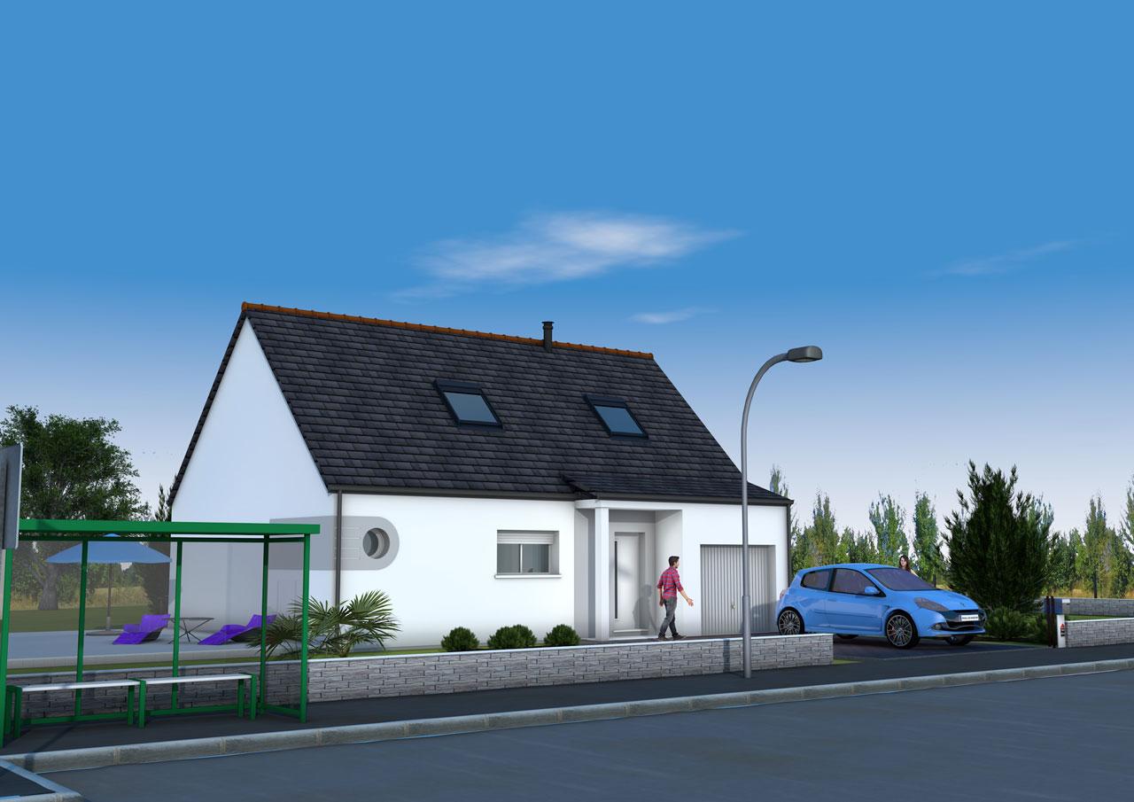 maison traditionnelle maine loire