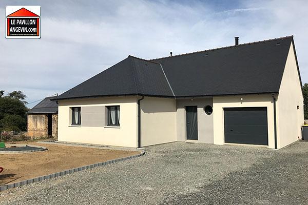 Maison individuelle construite à Morannes-sur-Sarthe - Daumeray