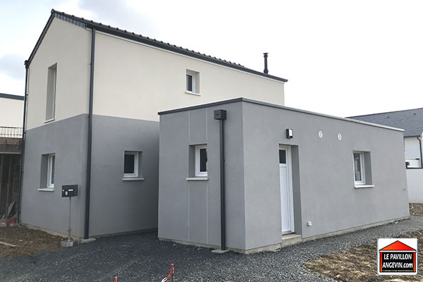 Maison individuelle construite à Angers