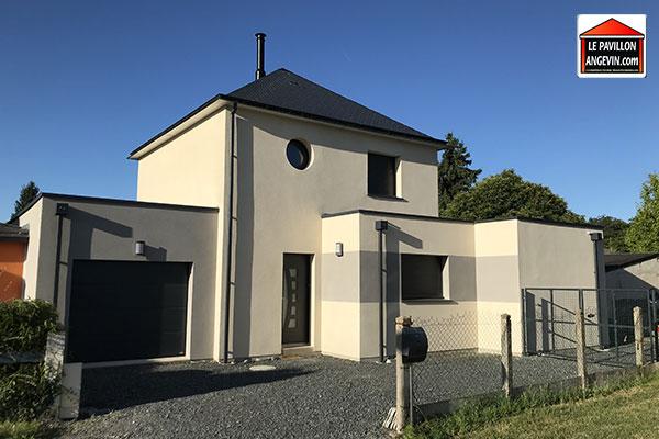 Maison individuelle construite à Tiercé dans le Maine-et-Loire